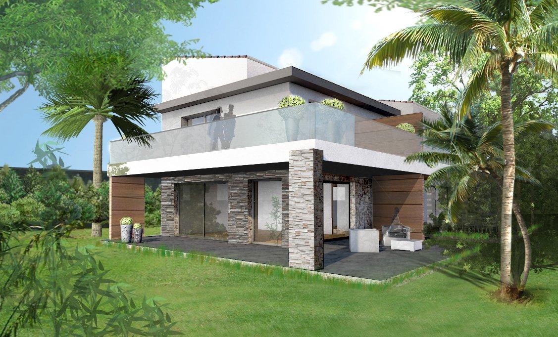 simulation aménagement villa