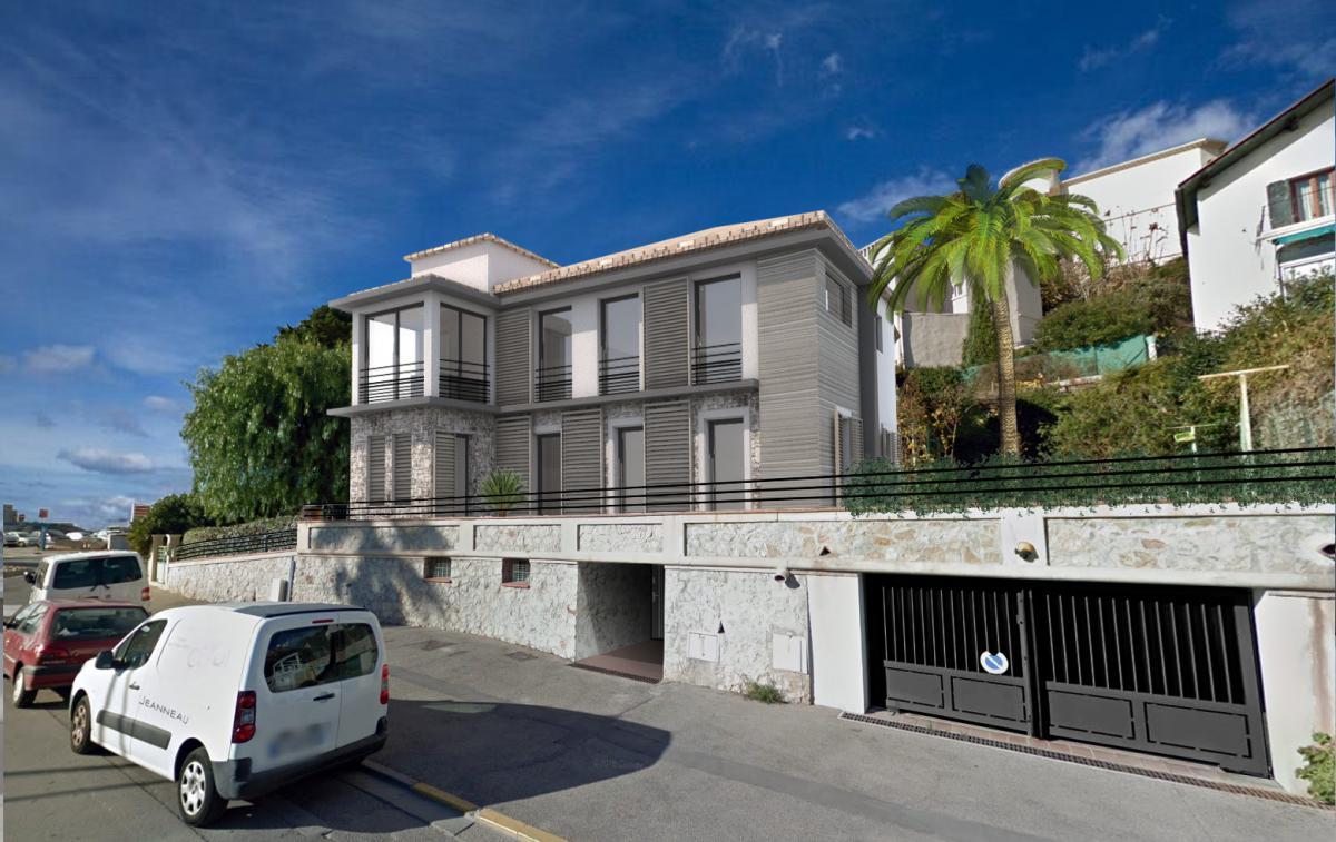 Facade villa
